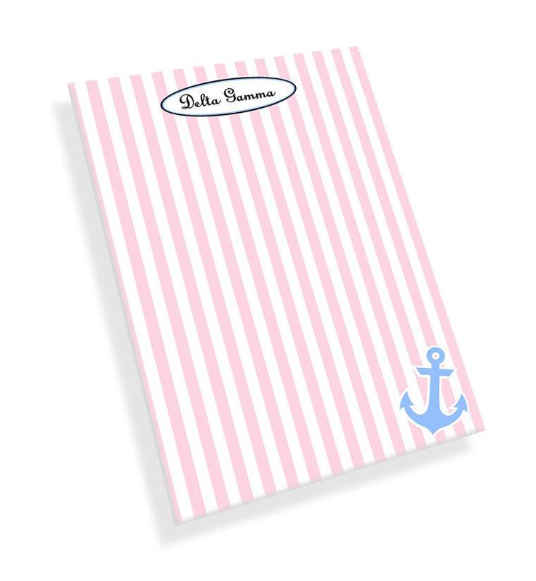 Delta Gamma Mascot Notepad