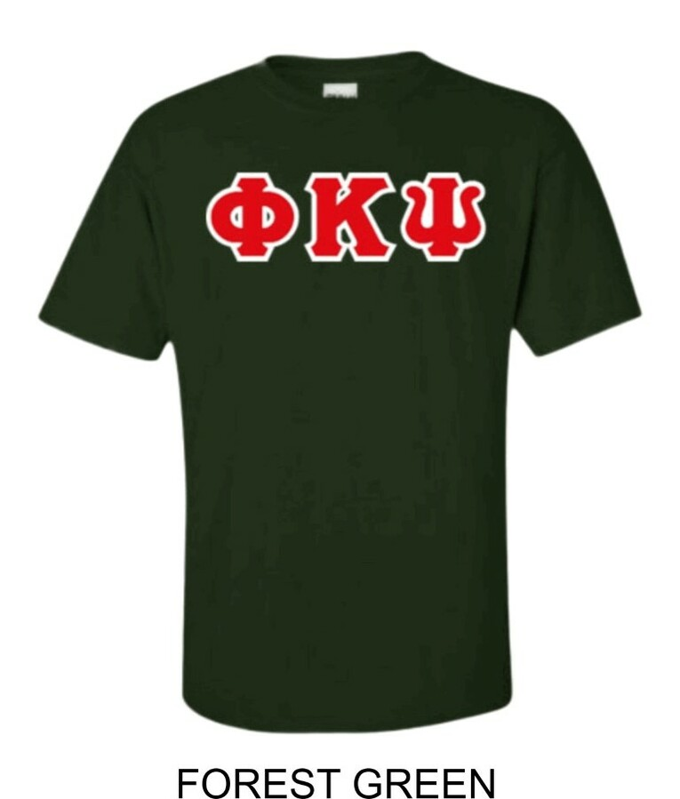 Phi Kappa Psi Lettered T-Shirt