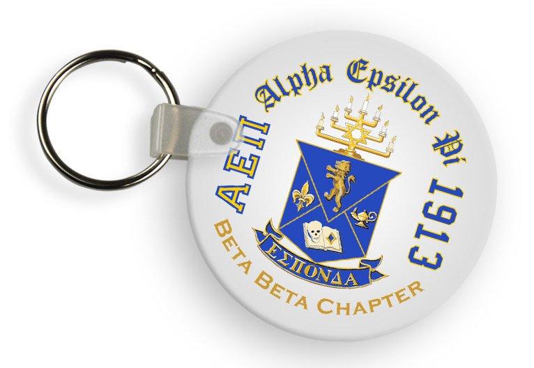 Alpha Epsilon Pi Color Keychains