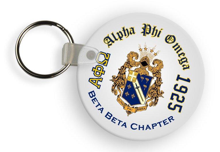 Alpha Phi Omega Color Keychains