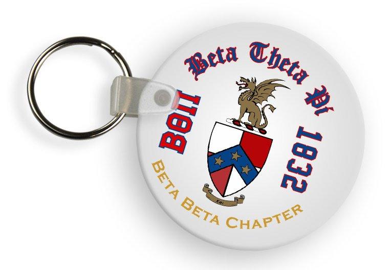 Beta Theta Pi Color Keychains