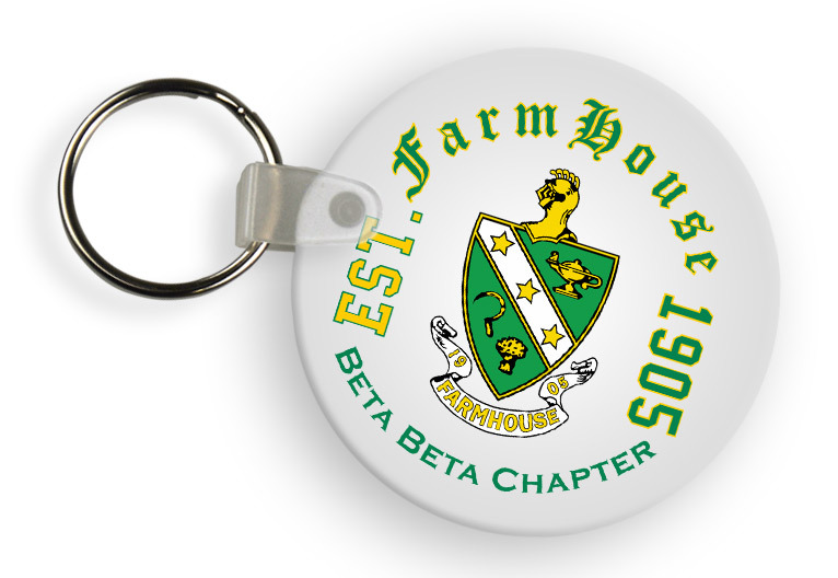FarmHouse Fraternity Color Keychains