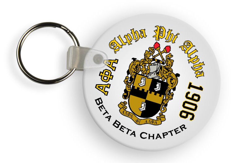 Fraternity Color Keychains