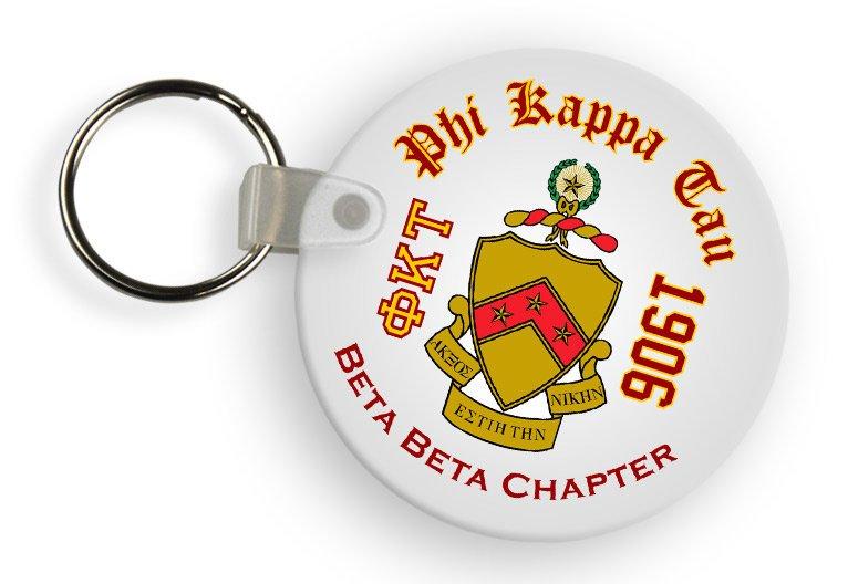 Phi Kappa Tau Color Keychains