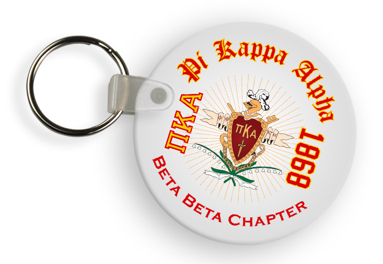 Pi Kappa Alpha Color Keychains