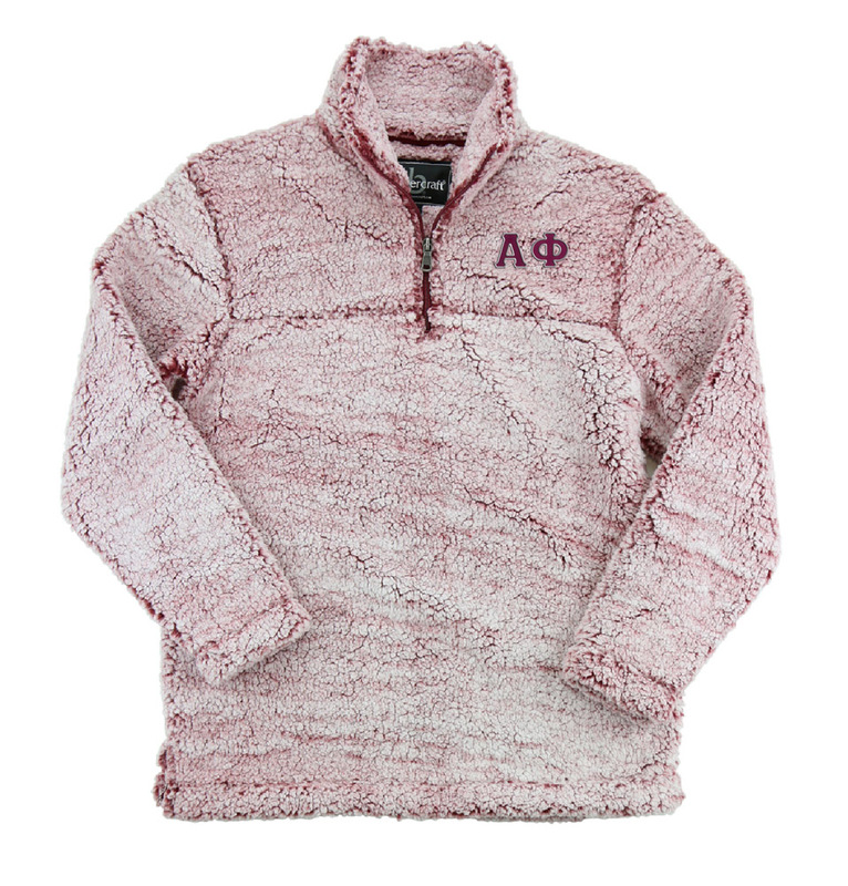 Alpha Phi Sherpa Quarter Zip Pullover