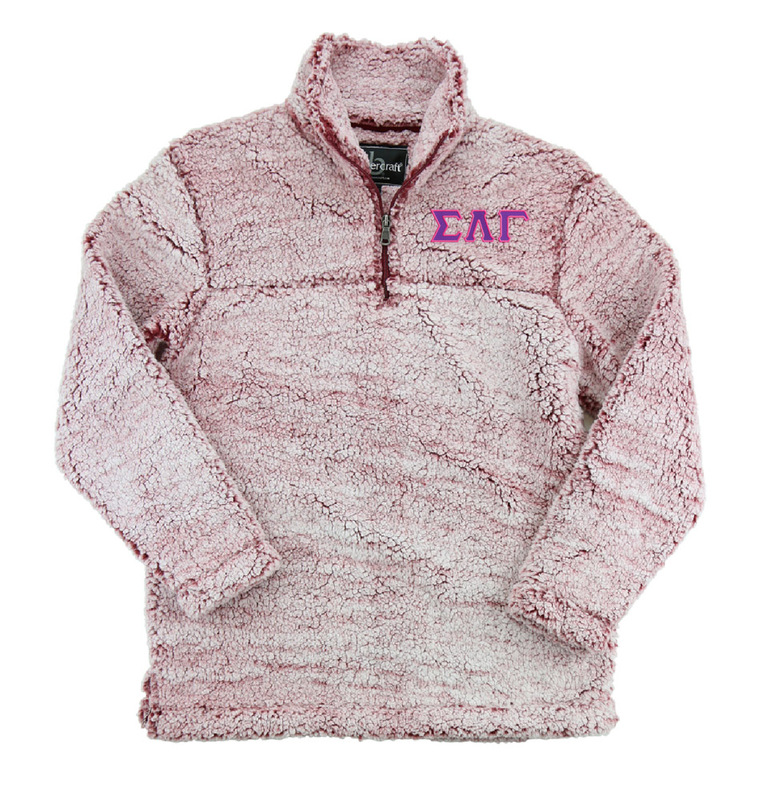 Sigma Lambda Gamma Sherpa Quarter Zip Pullover