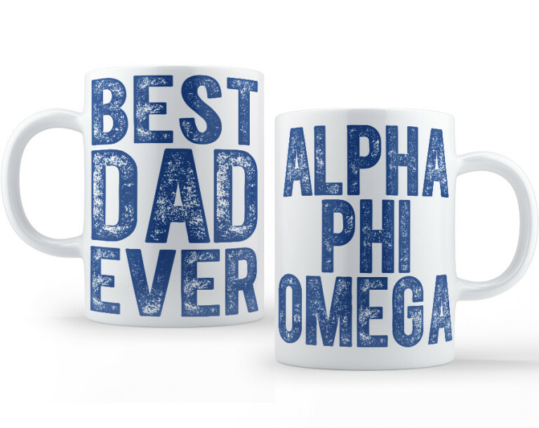 Alpha Phi Omega Best Dad Ever Coffee Mug