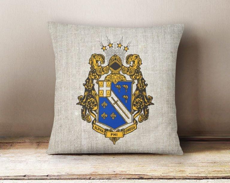 APhiO Linen Crest Pillow
