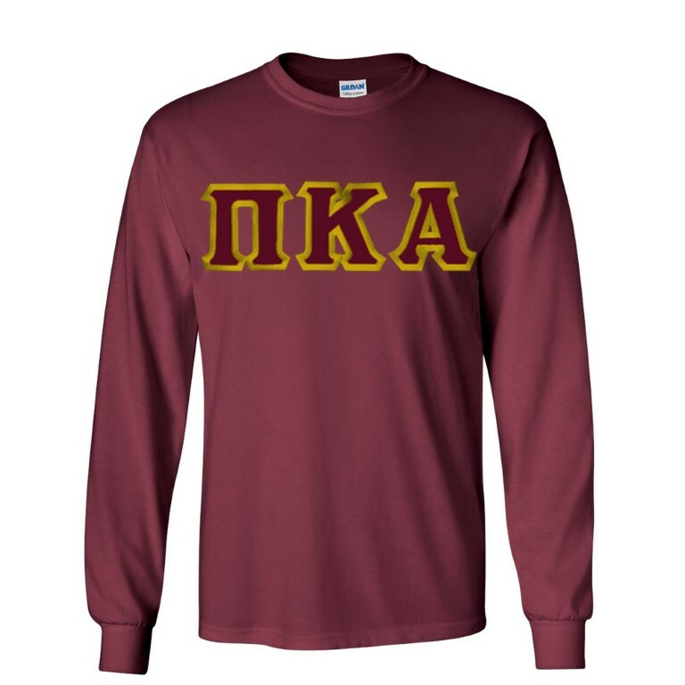 36fe3c56729  19.99 Pi Kappa Alpha Custom Twill Long Sleeve T-Shirt SALE  19.99 ...