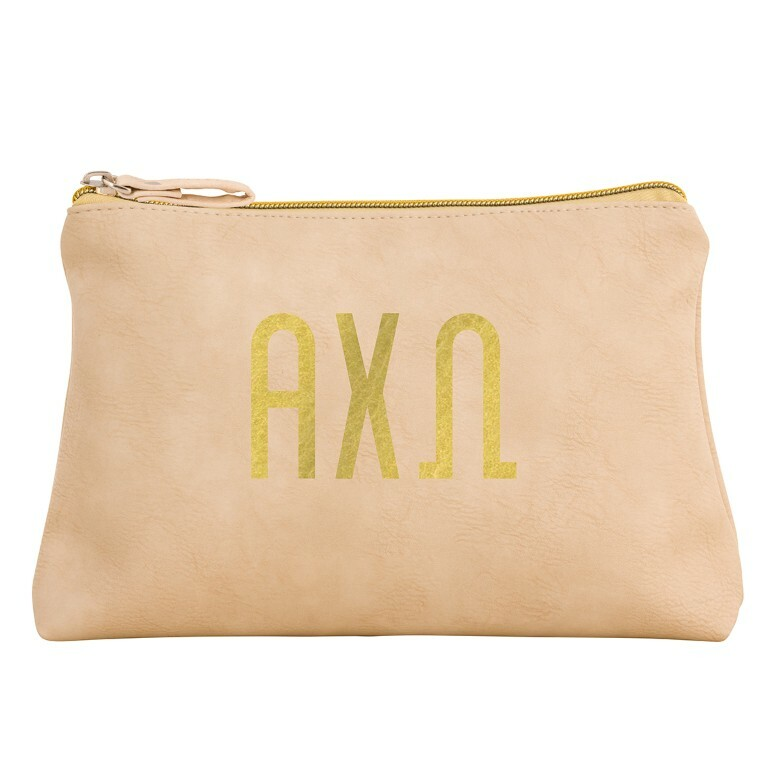 Alpha Chi Omega Sorority Cosmetic Bag