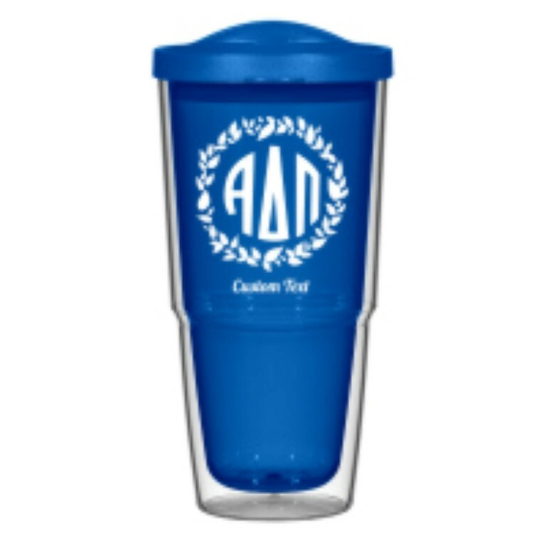 Alpha Delta Pi 24oz Biggie Tumbler with Lid