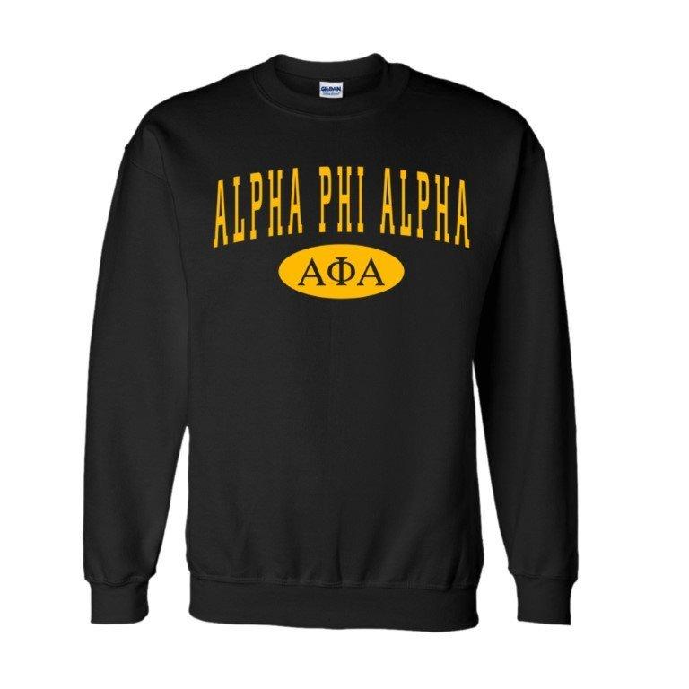 Alpha Phi Alpha Group  Crewneck Sweatshirts