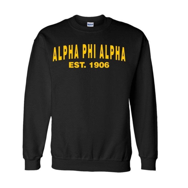 Alpha Phi Alpha Since  Crewneck Sweatshirts