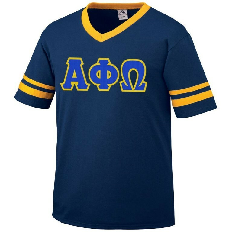 DISCOUNT-Alpha Phi Omega Jersey With Custom Sleeves