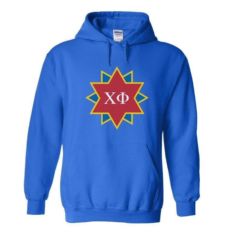 Chi Phi Logo Hooded Sweatshirt