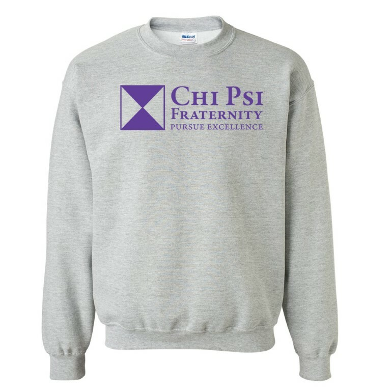 Chi Psi Logo Crewneck Sweatshirt