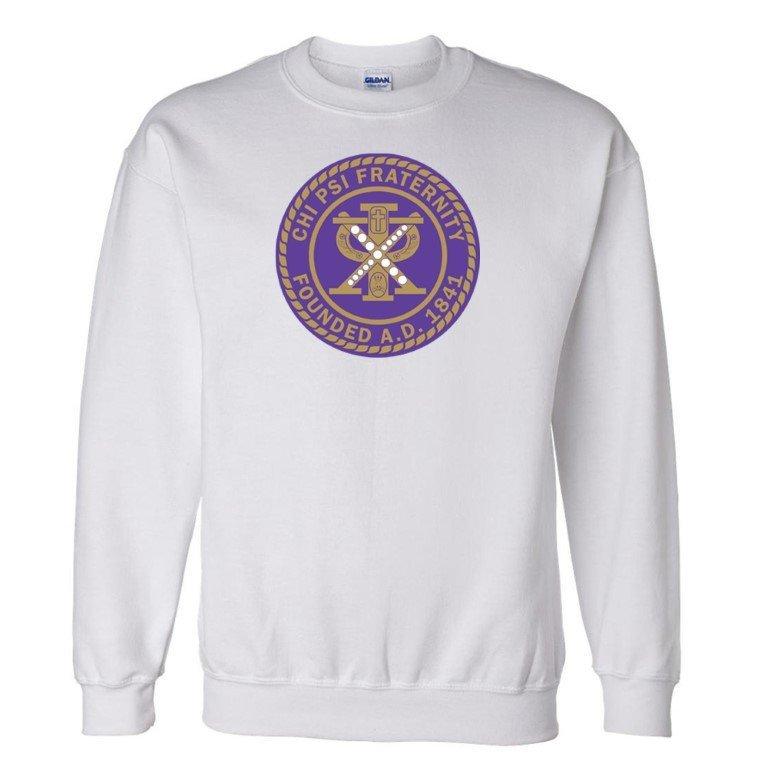 Chi Psi Seal Crewneck Sweatshirt
