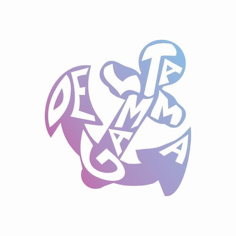 Delta Gamma Mascot Greek Letter Sticker