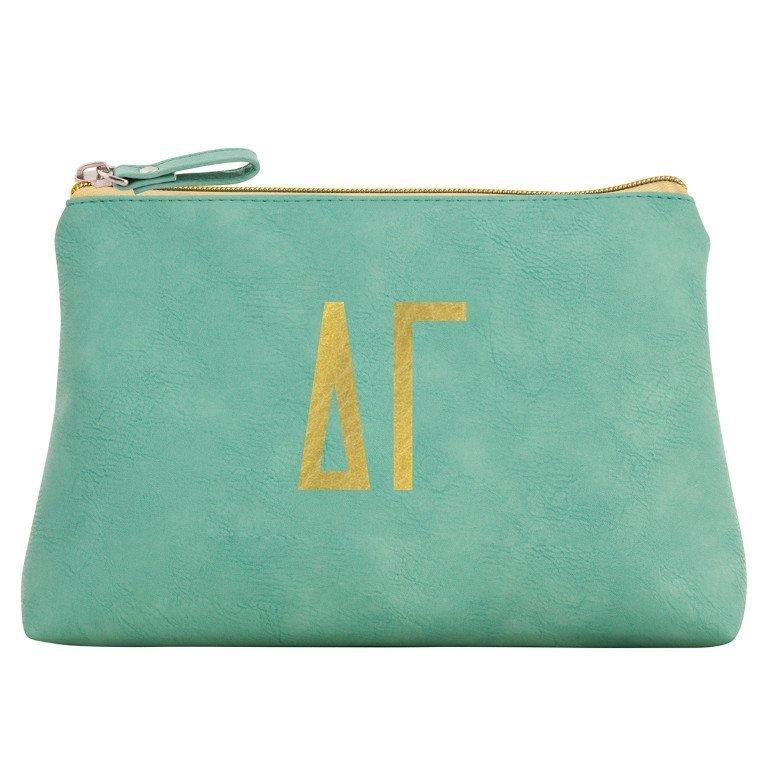 Delta Gamma Sorority Cosmetic Bag