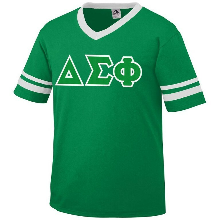 DISCOUNT-Delta Sigma Phi Jersey With Custom Sleeves