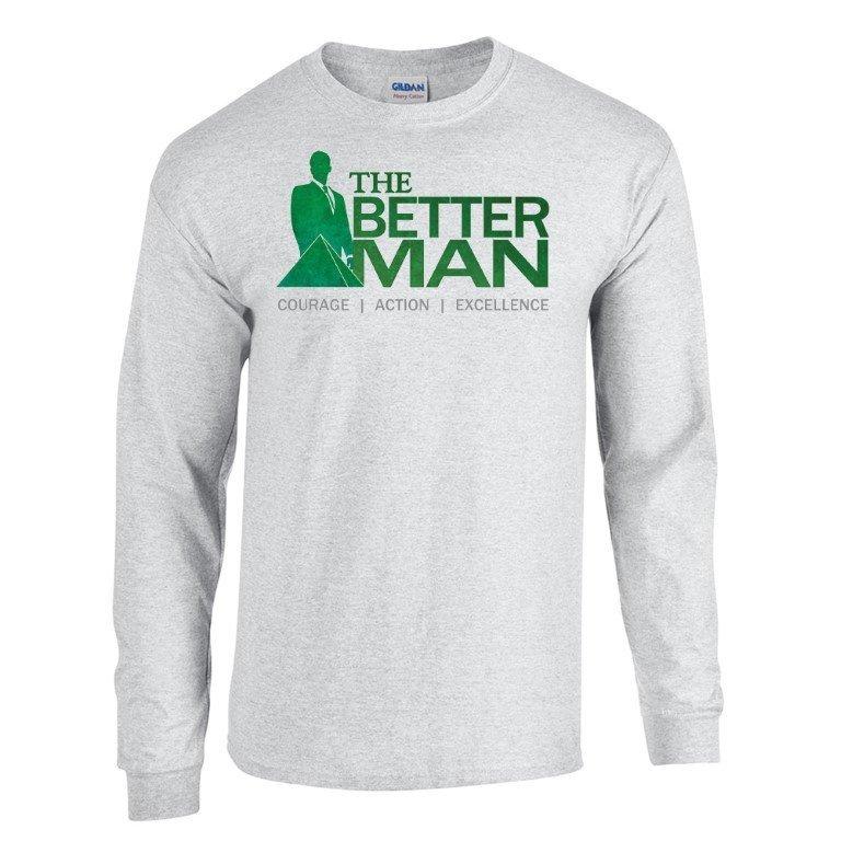 Delta Sigma Phi The Better Man Long Sleeve Tee