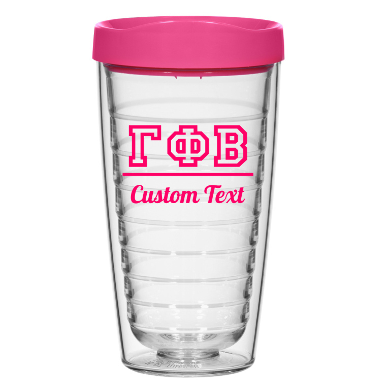 Fraternity & Sorority 16oz. Double Wall Tumbler