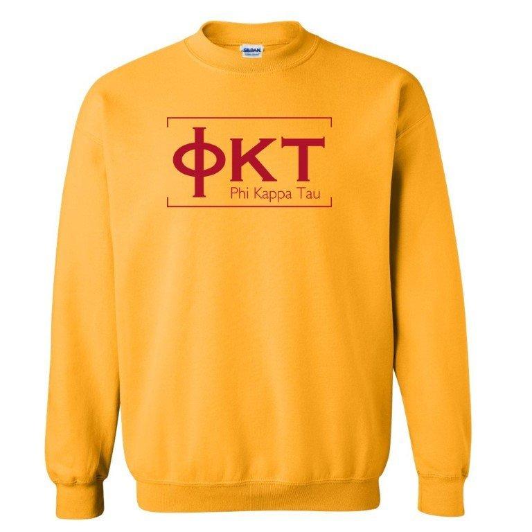 Phi Kappa Tau Logo Crewneck Sweatshirt