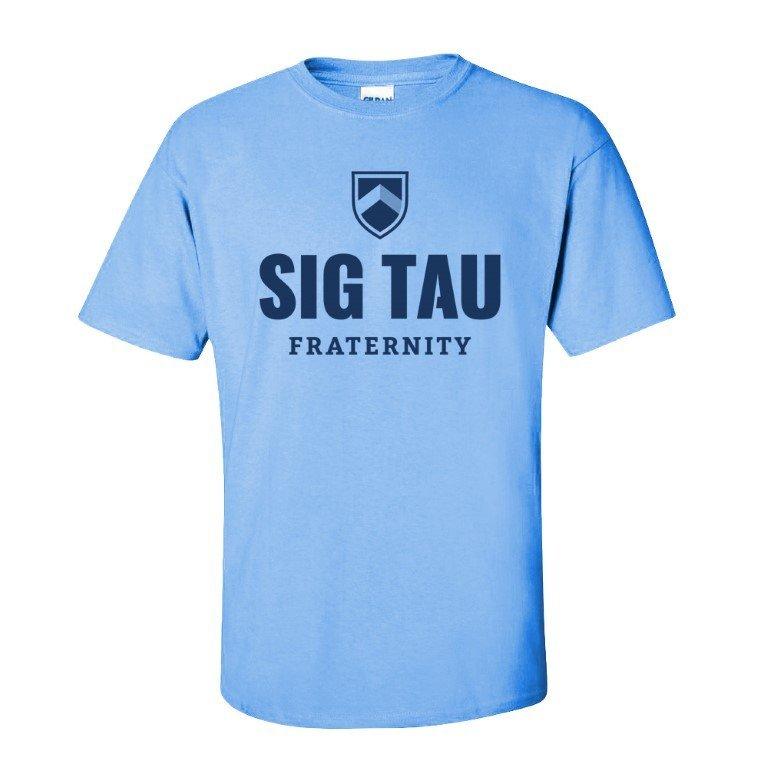 Sig Tau Fraternity Short Sleeve Tee