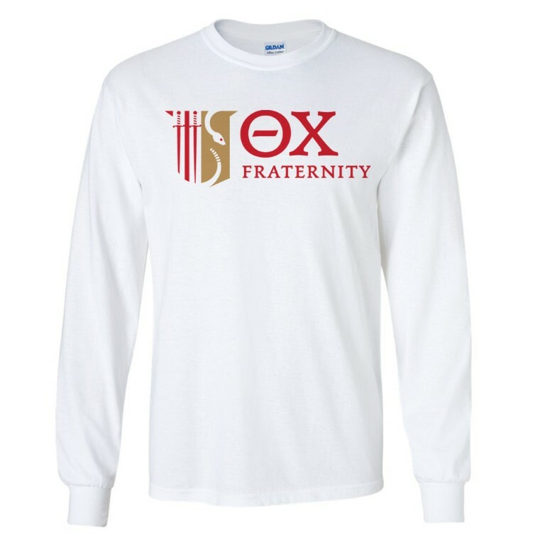 Theta Chi Logo Long Sleeve Tee