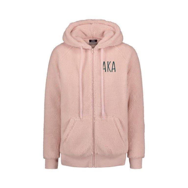 Alpha Kappa Alpha Fiona Sherpa Full Zip