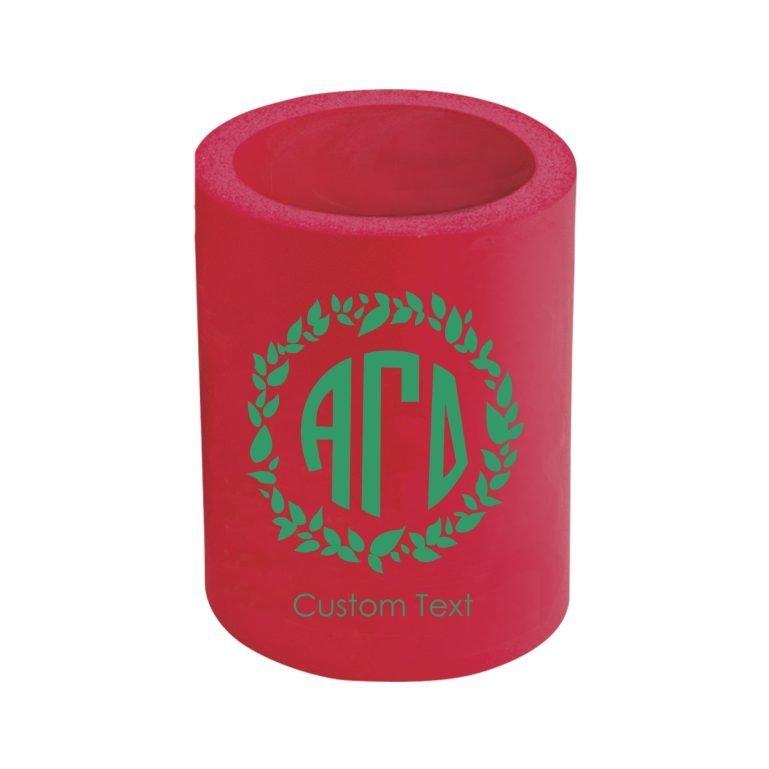 Alpha Gamma Delta Custom Kan Cooler