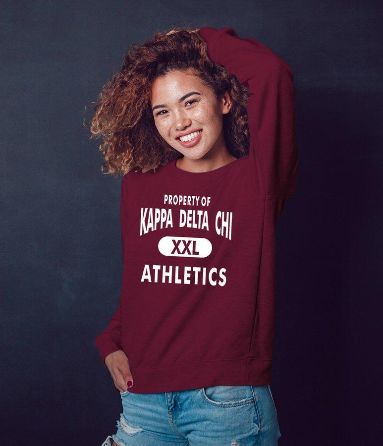 Kappa Delta Chi Athletics Crewneck Sweatshirt