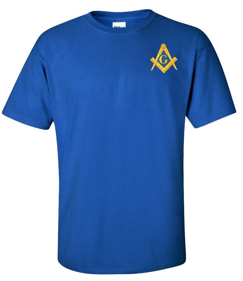 $10 Mason / Freemason Crest - Shield Tee