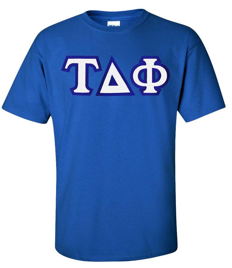 Tau Delta Phi Custom Twill Short Sleeve T-Shirt