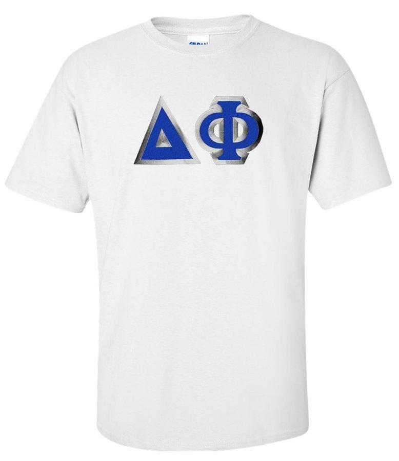 Delta Phi Custom Twill Short Sleeve T-Shirt