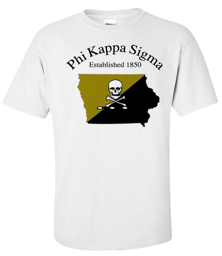 Phi Kappa Sigma State Flag T-shirt
