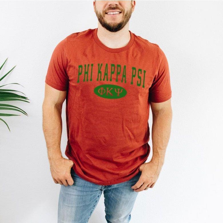Phi Kappa Psi arch tee