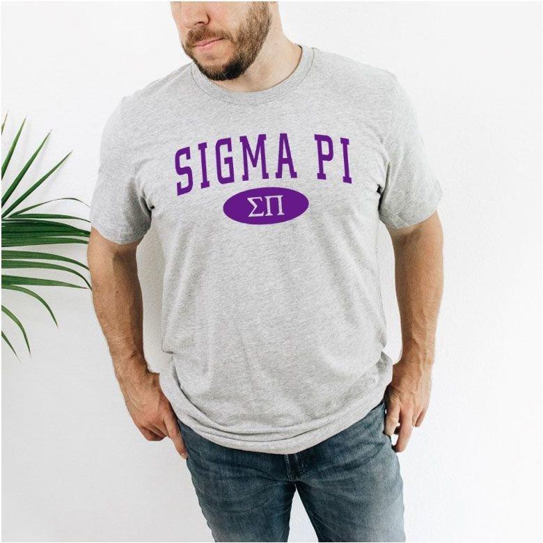 Sigma Pi arch tee