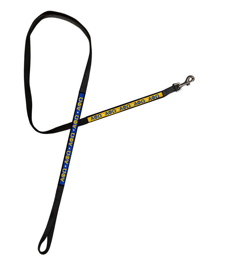 Alpha Phi Omega Long Dog Leash