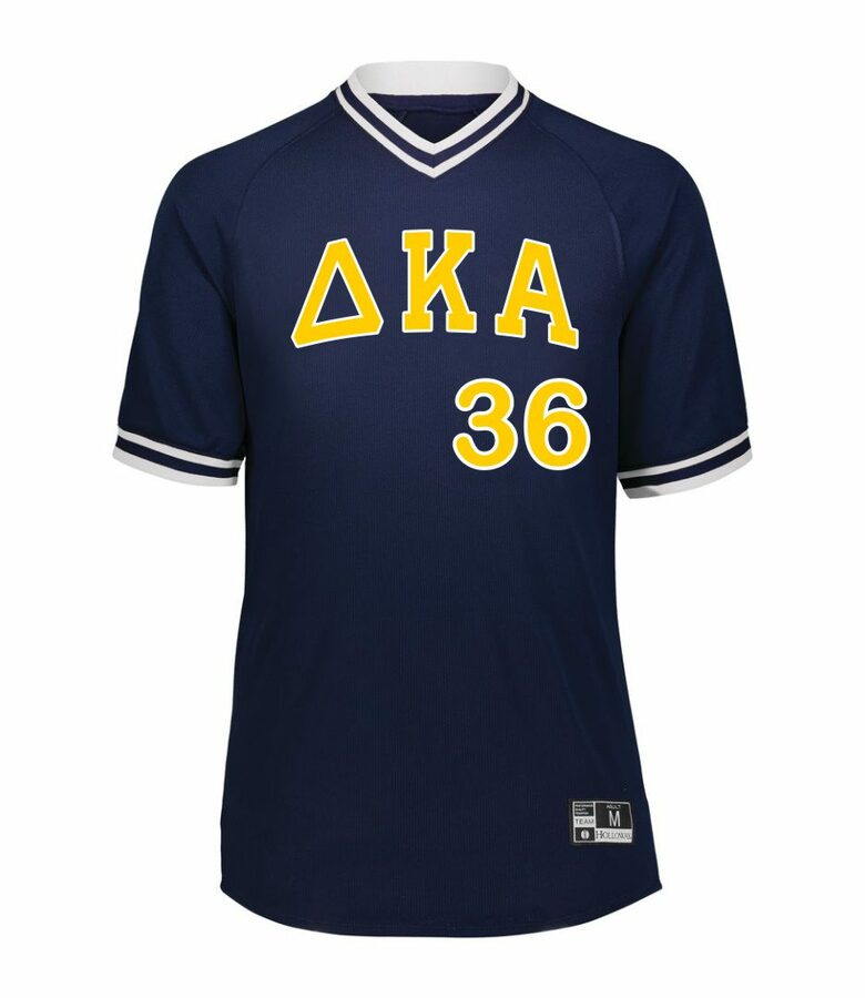 Delta Kappa Alpha Retro V-Neck Baseball Jersey
