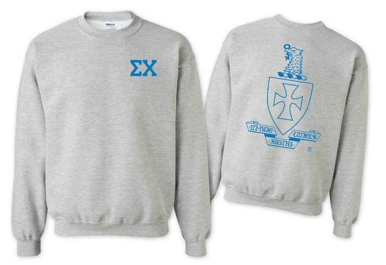 Sigma Chi World Famous Crest - Shield Crewneck Sweatshirt- $25!