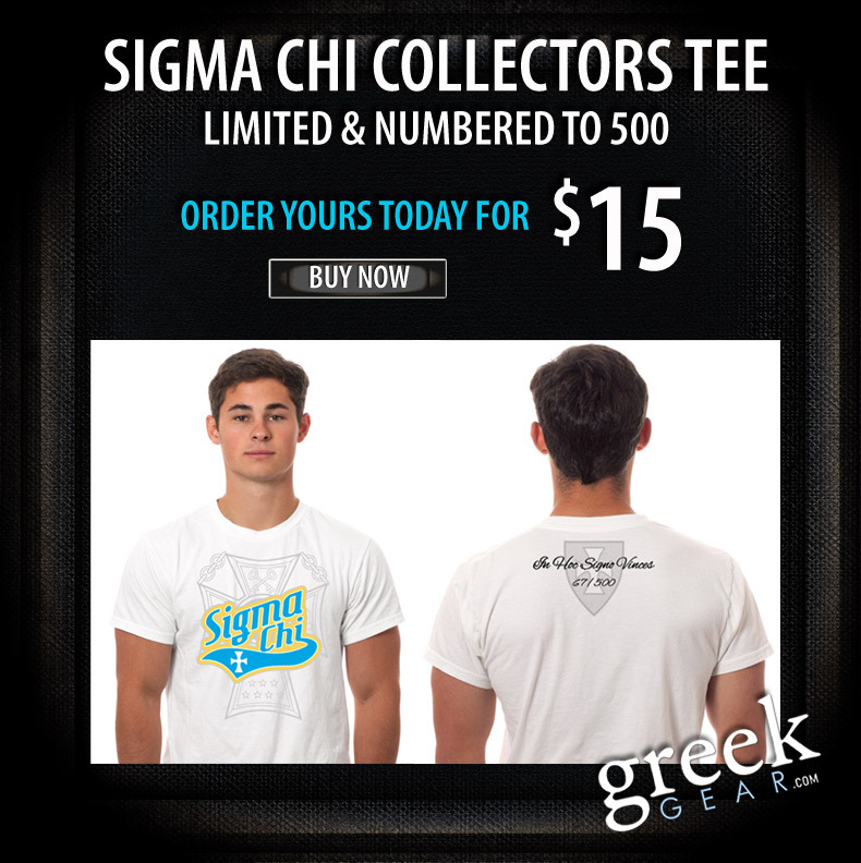 Sigma Chi Limited Edition Collector's Tees