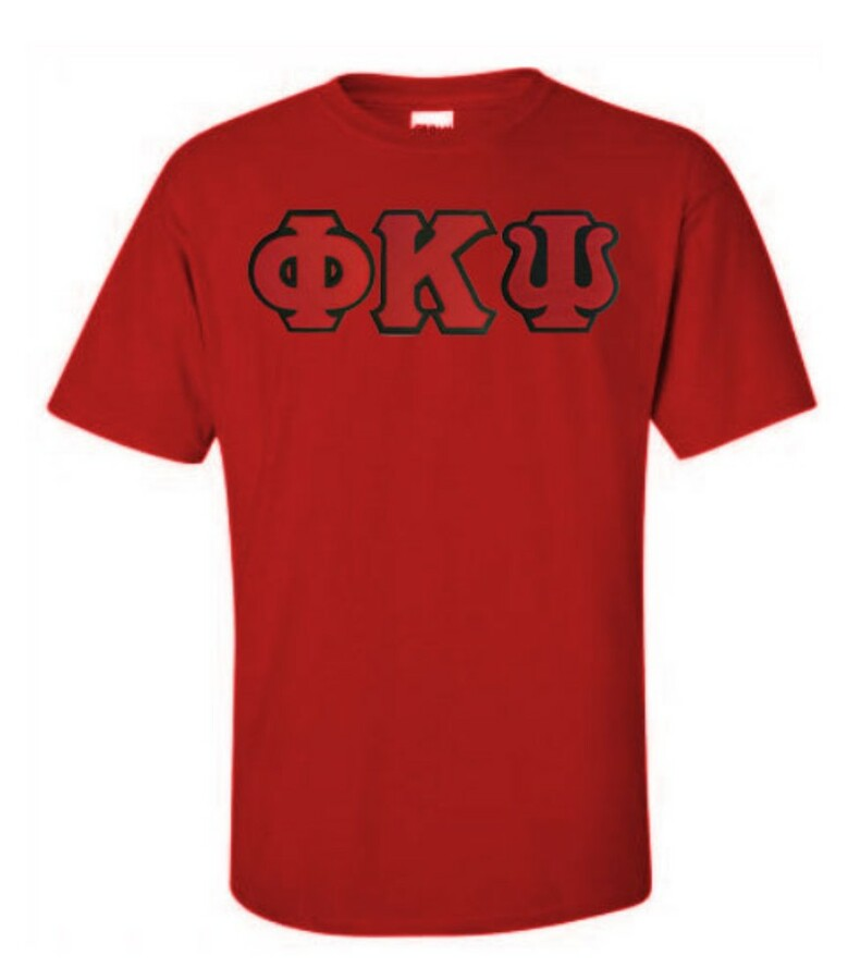 DISCOUNT Phi Kappa Psi Lettered T-shirt