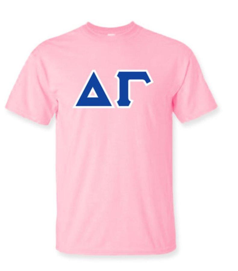Delta Gamma Lettered Shirts