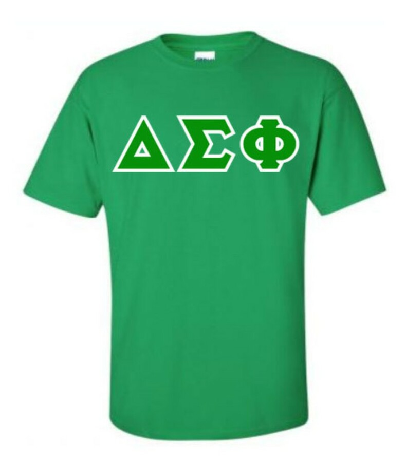 Delta Sigma Phi Lettered T-Shirt