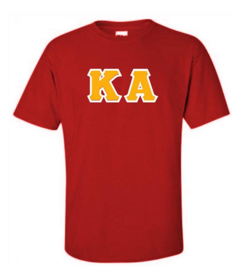 Kappa Alpha Lettered T-Shirt