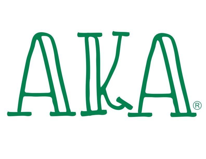 Alpha Kappa Alpha Carson Greek Sticker