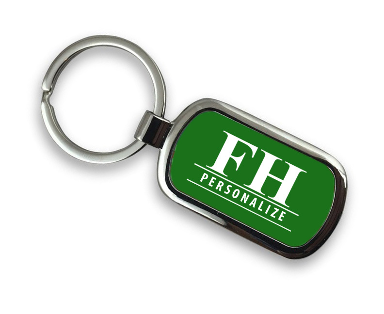 FarmHouse Fraternity Chrome Custom Keychain