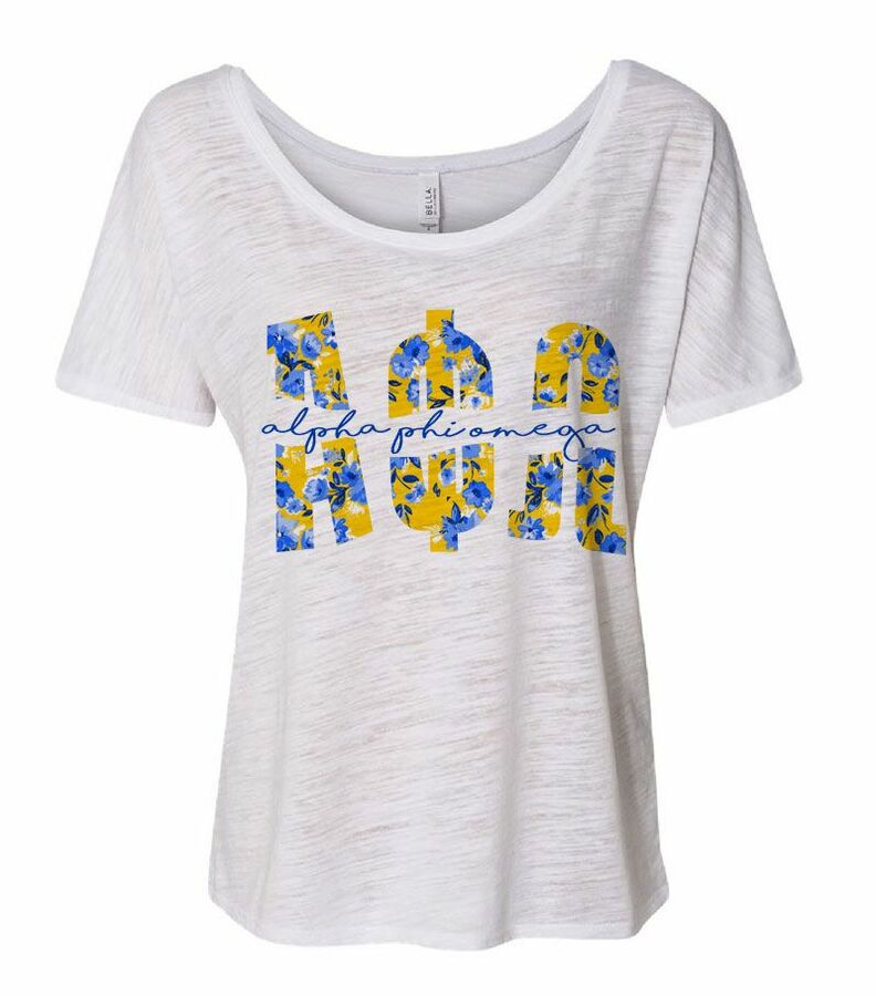 Alpha Phi Omega Slouchy T-Shirt